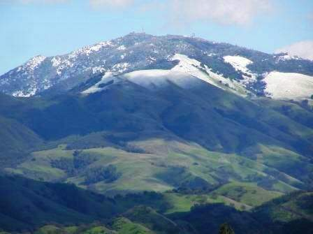 Mt. Diablo in Winter